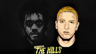 The Weeknd   The Hills feat  Eminem Remix