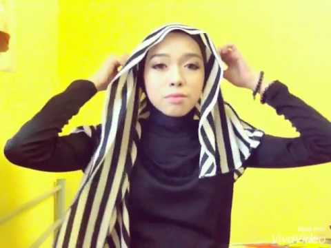 Tutorial Shawl Elfira Loy By Yayanediya