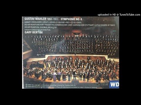 G.MAHLER Symphony No.8 (G.Bertini/KRSO 1991)