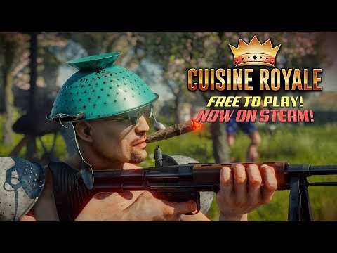 Cuisine Royale FREE Battle Royale game! My thoughts!