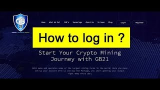 GB21 - Gainbitcoin - how to log in to the new site ?
