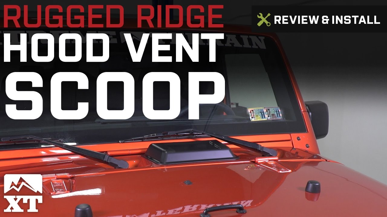 Exterior Door Panels & Frames Black Abs Air Intake Hood Vent Scoop Cover Trim For Jeep Wrangler Jk Tj 98-18