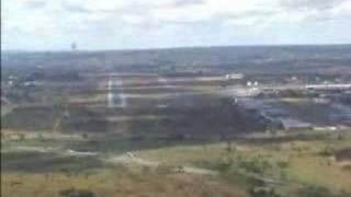 Pouso em Brasília - Citation Ultra