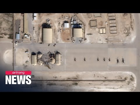 Satellite images show aftermath of Iran missile attack on al-Asad air base