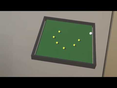 Unity Roll A Ball in Mixed Reality with the HoloLens