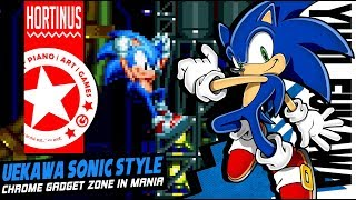 ✪ Uekawa Sonic Style | Chrome Gadget | Sonic Mania (1080P @60FPS) ✪