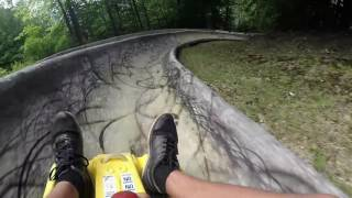 RAGE ON THE ALPINE SLIDE