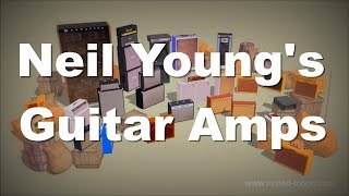 Amp Barn - Neil Young's guitar amps in one video