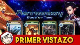 ASTRO BOY: EDGE OF TIME ► Cartas y Anime │ Primer Vistazo y Abrimos Boosters!