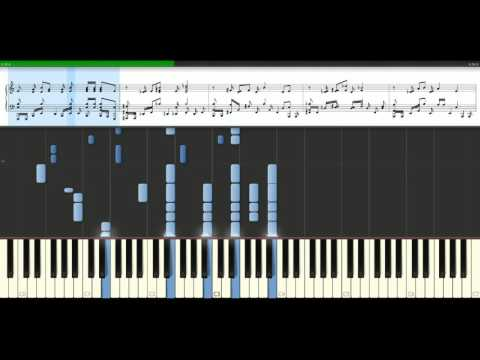 Eagles - Hotel California (version 2) [Piano Tutorial] Synthesia