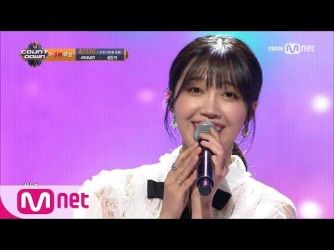[Jeong Eun Ji - The Spring] KPOP TV Show   M COUNTDOWN 170420 EP.520