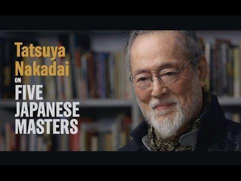 Tatsuya Nakadai on Five Japanese Masters