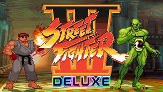 STREET FIGHTER III DELUXE - PC LONGPLAY - Evil Ryu (SFA) PLAYTHROUGH [NO DEATH RUN] (FULL GAMEPLAY)
