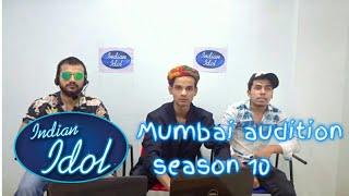 Indian idol mumbai audition 2018 | season 10 | bunker dude | Sam Shaikh
