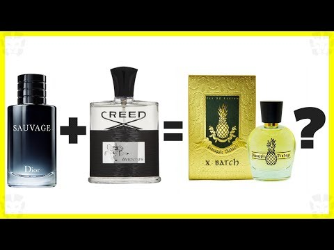 DIOR SAUVAGE COMBINED WITH CREED AVENTUS? | X-Batch Review