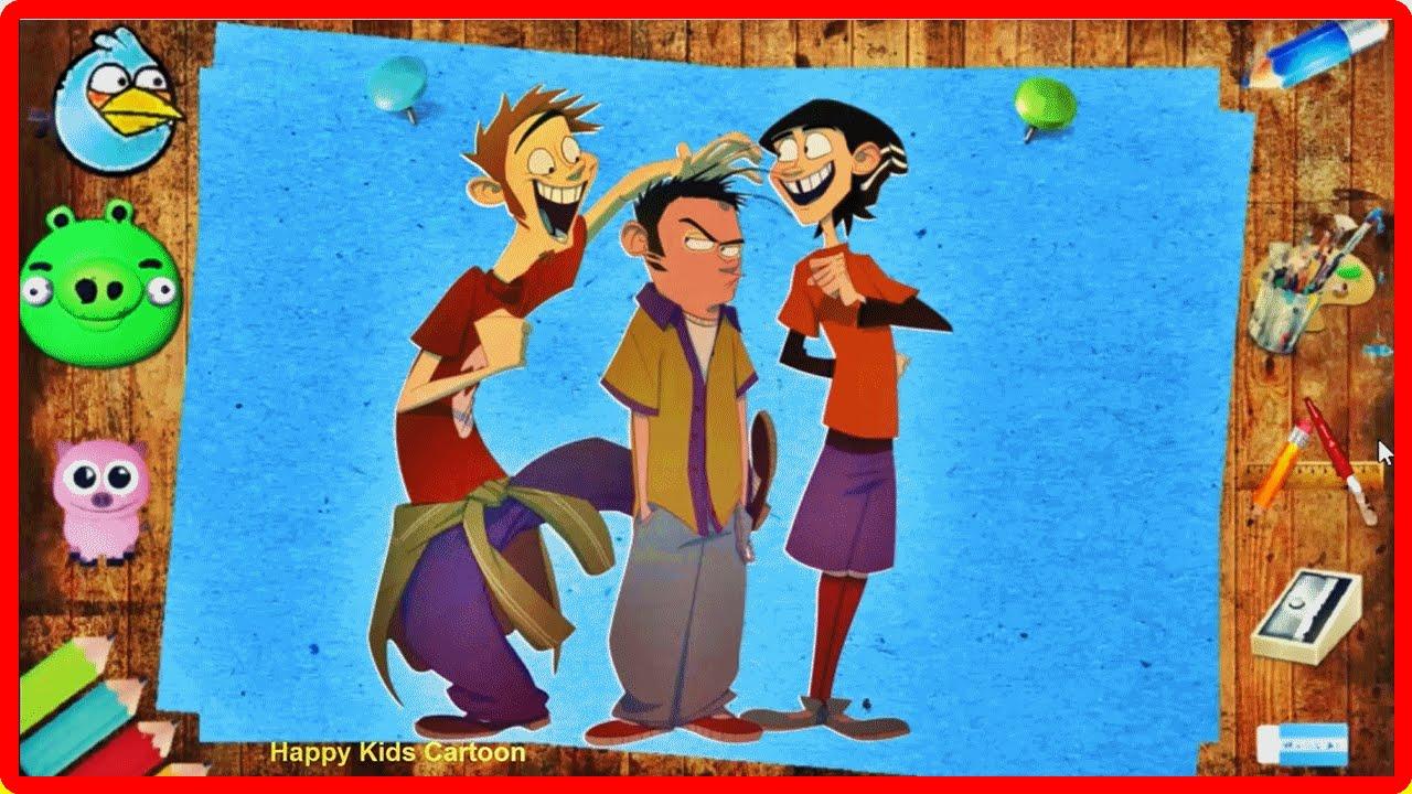 Ed, Edd n Eddy Cartoon Magic Pencil Coloring Book For Kids Animation ...
