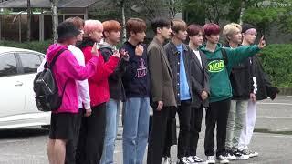 20190906 더보이즈 THE BOYS 뮤직뱅크 출근길