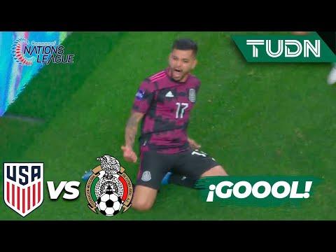 ¡De vestidor! ¡Gol del 'Tecatito'! | Estados Unidos 0-0 México | Nations League - Final | TUDN