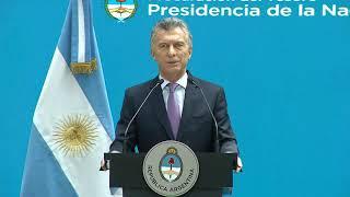 El presidente Macri encabeza la apertura de la jornada del Cuerpo de Abogados del Estado