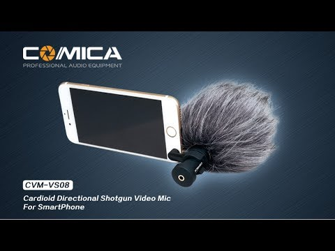 Comica Shotgun Microphone for SmartPhones Review