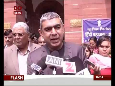 Infosys CEO Vishal Sikka meets Finance Minister