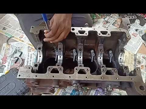 Tata Safari 2.2 Dicor engine overhaul full video