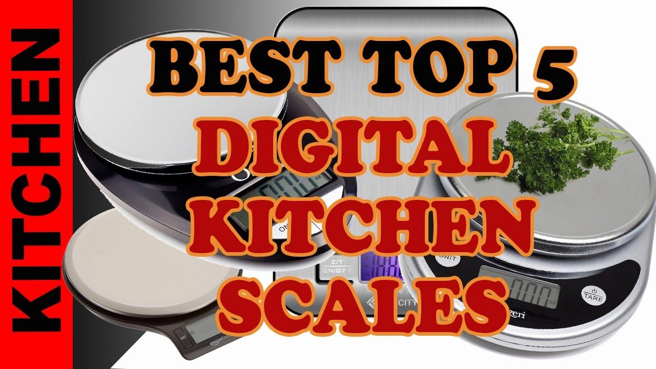 top 5 best digital kitchen scales | best gram scales | top diet