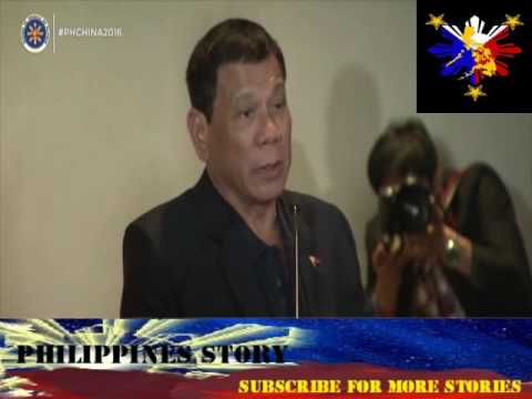 PRESIDENT DUTERTE'S INTERVIEW WITH A CHINESE MEDIA THAT CAN SPEAK TAGALOG