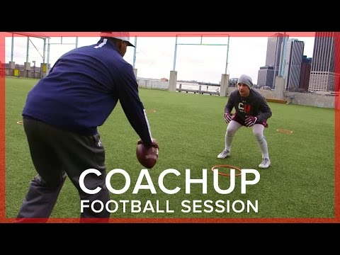 CoachUp Football Session  Paul Barber