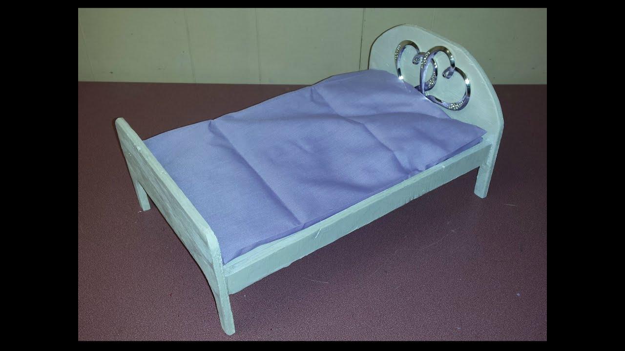 wooden barbie doll furniture. How To Make Barbie\u0027s Bed Out Of Wood Wooden Barbie Doll Furniture N