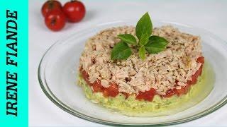 Салат с авокадо. Вкусный салат с авокадо и тунцом(Irene Fiande)
