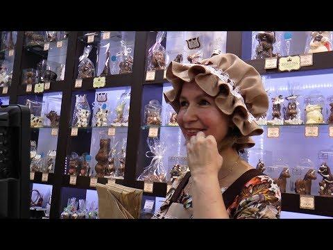 В Рязанском музее шоколада. РВ ТВ