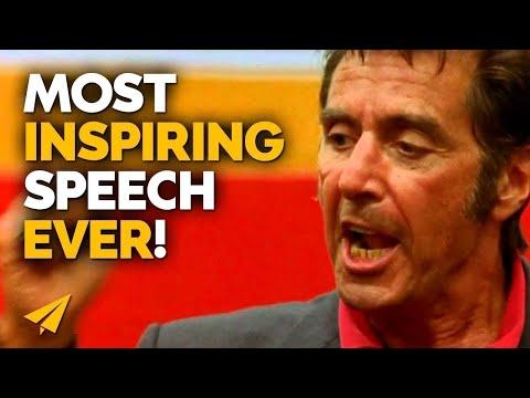 Al Pacino's Inspirational Speech - MUST WATCH!
