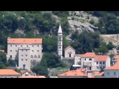 Boka Kotorska bay Perast town Montenegro