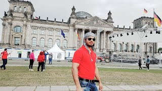 BERLIN WALL GERMANY WITH INDIANS AND PAKISTANI