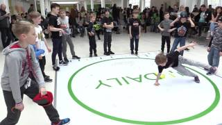 дети танцуют брейк данс, просто джем на  breakdance city battle - ТЦ 4Daily 20170422