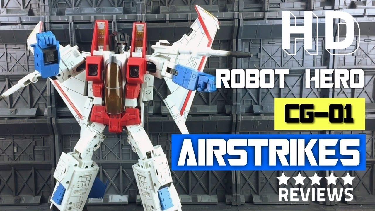 Robot Hero Oversized MP11 CG-01 Starscream New