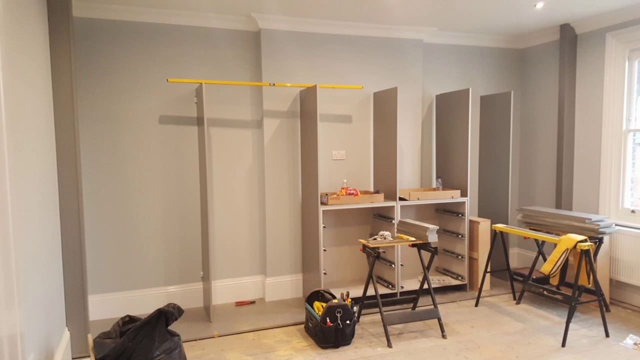 Building A Fitted Wardrobe Youtube