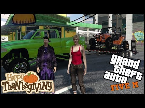 GTA 5 ROLEPLAY - THANKSGIVING OFFROAD DATE! - EP. 544 - CIV
