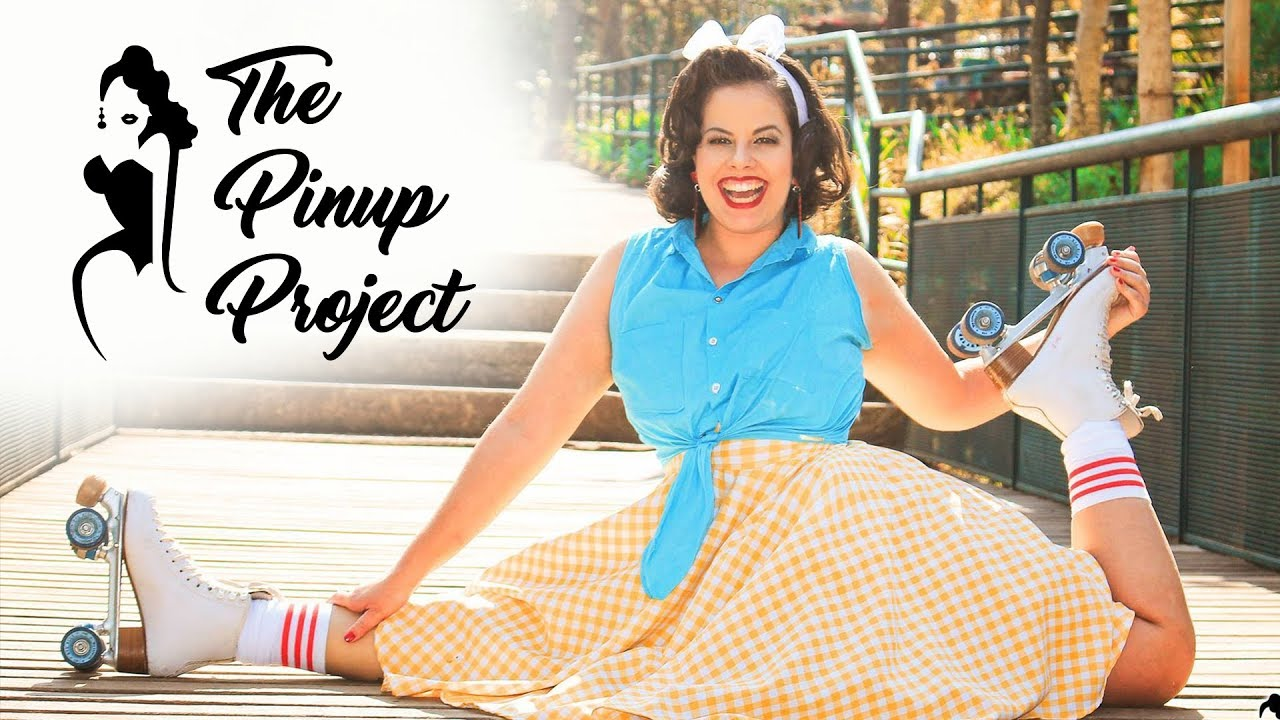 The Pinup Project ⋮ Isadora Rinelle - Roller Skater ⋮ Making Of