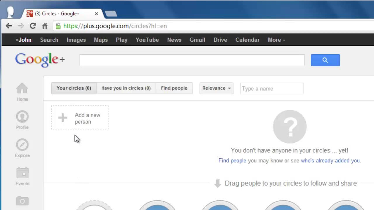 How To Invite Friends On Google Plus Youtube