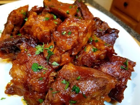 Cooking Baked Rib Tips!