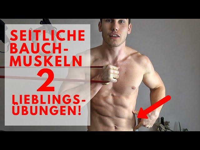 Seitliche Bauchmuskeln trainieren: meine Lieblingsübungen
