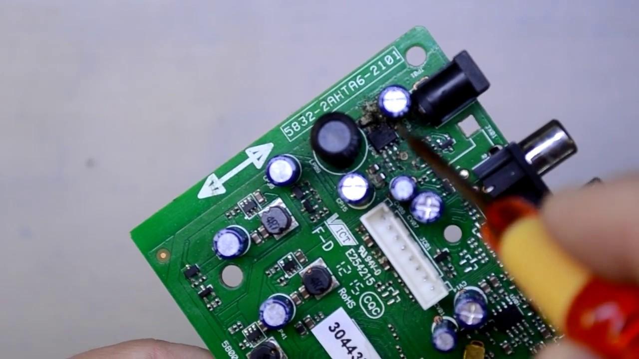 Trimax tr-2012hd опознать микросхему.