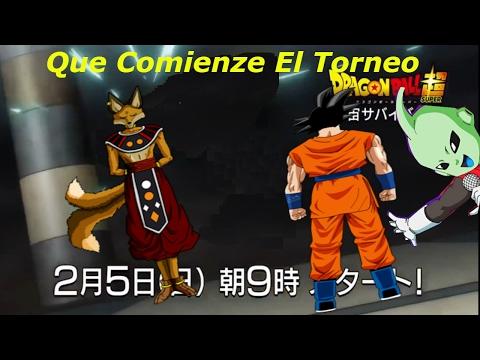 DBS El rey del 9º universo aparece/la Nueva Diosa egipcia/Goku va a utilizar el kaioken