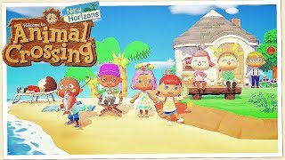"""Animal Crossing: New Horizons – """"Welcome To Island Life"""" Gameplay Trailer"""