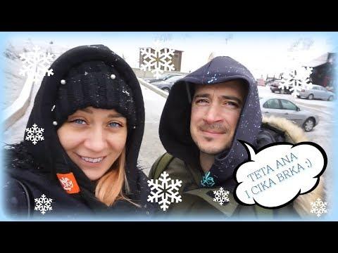 Travel vlog: snezno dete, cika Brka i cmickAna, Zlatibor 2018.