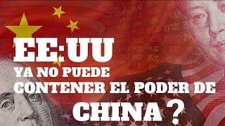 El PODER de CHINA es IMPARABLE ante EE:UU?