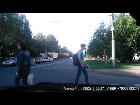 Видео-обзор экзаменационного маршрута 2-3 в городе Чебоксары (Июнь 2019)