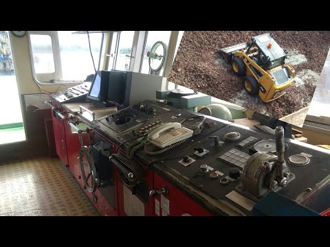 inside of small cargo ship and its operation | mv duane 2